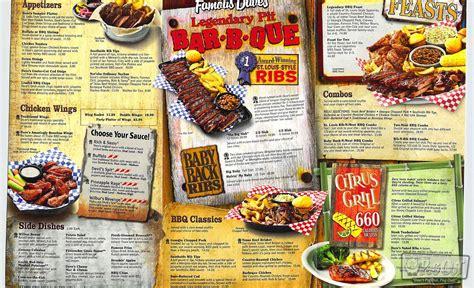 Dine In Menu Famous Daves | Autos Post Famous Dave's Menu
