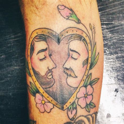 gay couple tattoos 77 best images about skin on traditional