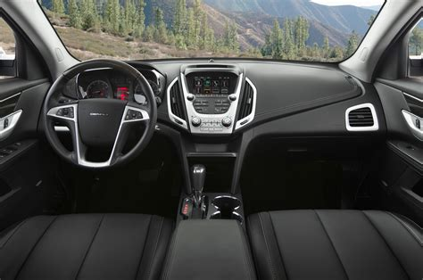 Gmc Interior by 2016 Gmc Terrain Denali Awd Test Review Motor Trend