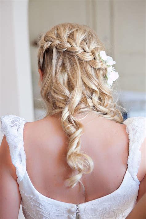 Wedding Hair by A Spoonful Of Sugar Whimsical Wedding Hair