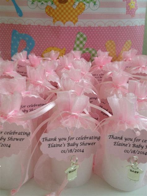 Baby Shower Votive Candle Favors by 30 Baby Shower Favors Votive Candles In An Organza Bag