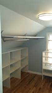25 best ideas about slanted ceiling closet on