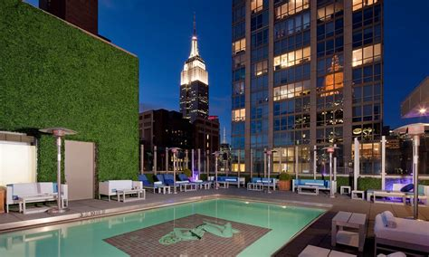 gansevoort hotel group luxury hotels in manhattan new top 5 best rooftop bars in new york city