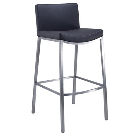 White Steel Bar Stools by Stainless Steel Bar Stool Temple Webster