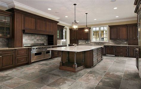 Kitchen Tile Flooring Ideas Best Tiles For Kitchen Countertops Studio Design Gallery Best Design