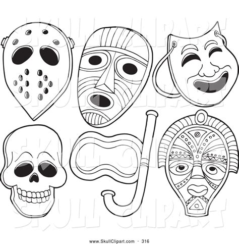skull face coloring page skull mask coloring pages