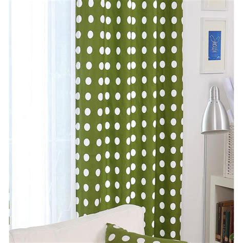 polka dot bedroom curtains curtains green polka dot curtain menzilperde net