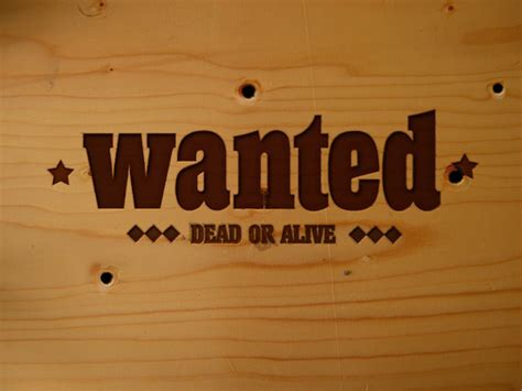 tutorial wanted dead or alive how to put smokin bullet holes and a wanted sign into a