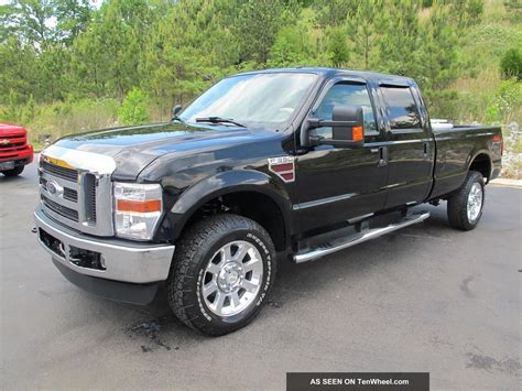 2008 Ford F350 by 2008 Ford F 350 Lariat 4x4 Powerstroke Diesel