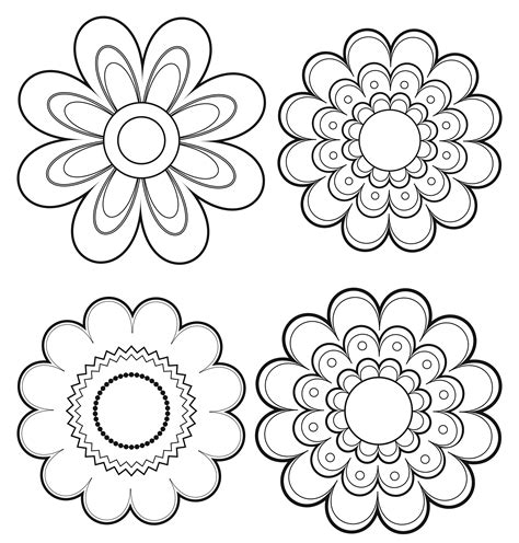 coloring pages of mexican flowers free mexican flowers coloring pages