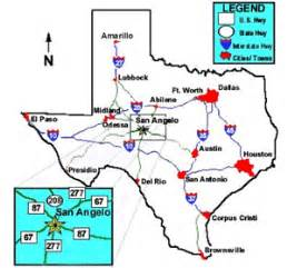 where is san angelo on the map san angelo getting here