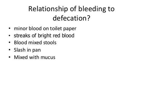Blood In Stool And Crs In Stomach by Lower Gi Bleed Neo