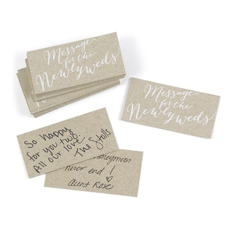 wedding day advice message in a bottle wedding day advice card set