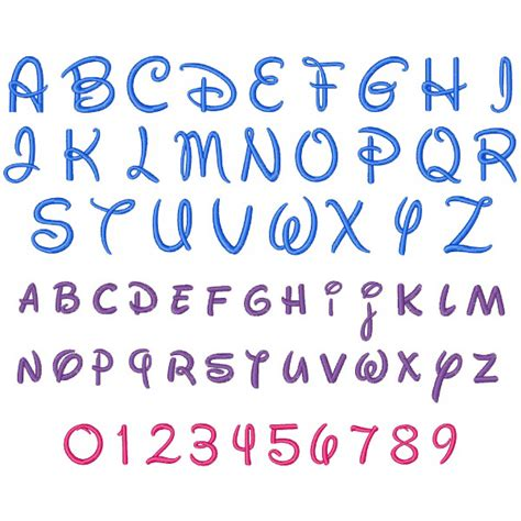 Disney Letter Stencils