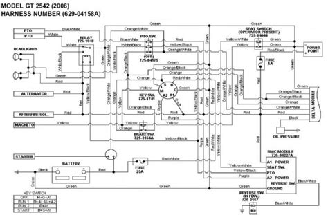 cub cadet lt1045 wiring diagram 31 wiring diagram images