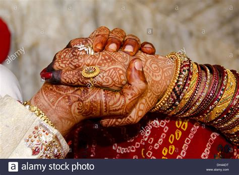 Wedding Ceremony In India by Indian Wedding Ceremony And Bridegroom Holding