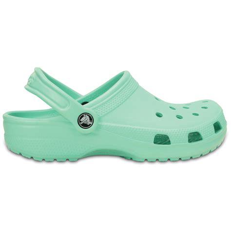 Crocs Slip On Original crocs classic shoe new mint original slip on shoe