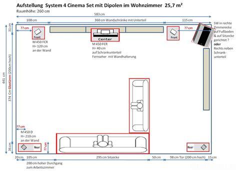 5 1 soundsystem wohnzimmer wohnzimmer grundriss aufstellung boxen hifi forum de
