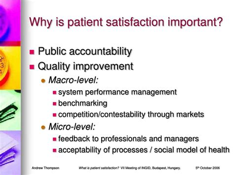 patient satisfaction thesis customer essay quality management process for customer