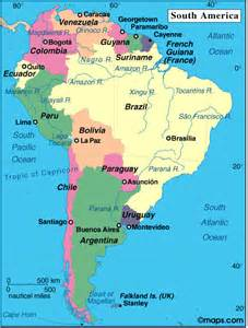 show a map of south america fotoview