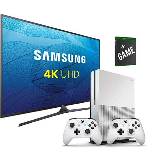 samsung 50 quot uhd 4k smart tv xbox one s bundle