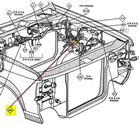 1992 dodge dakota wiring diagram get free image about