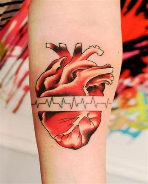 pulse tattoo with pulse on arm tattooimages biz