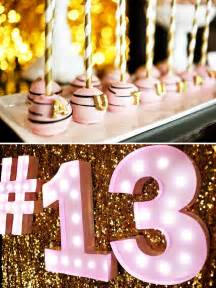 fabulous pink amp gold glitter teen birthday hostess with