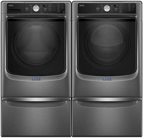 Maytag MAWADREC82 Side by Side on Pedestals Washer & Dryer