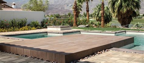 Sundeck Patio by Sundeck Porcelain Paver System Porcelain Wood Finish Pavers