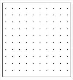 Dot Template by Dot Paper 8 Free For Pdf Word