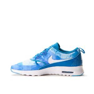 nike wmns air max thea print light blue lacquer white