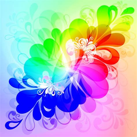 colorful design free desktop colourful floral vector designs