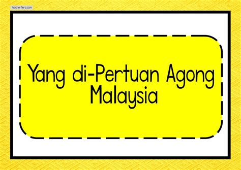 teacherfieracom   pertuan agong malaysia