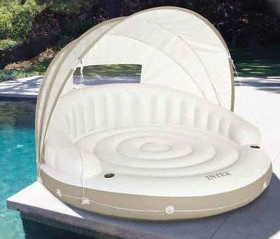 inflatable pool couch quot floating cabana quot inflatable sofa for pool patio or beach