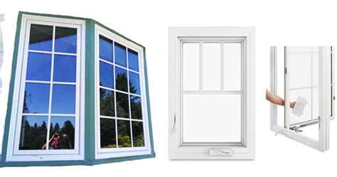 double awning windows casement window types