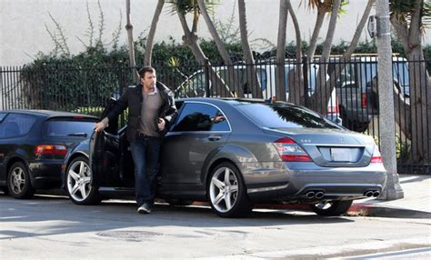 ben affleck mercedes s63 stars and cars drive away 2day