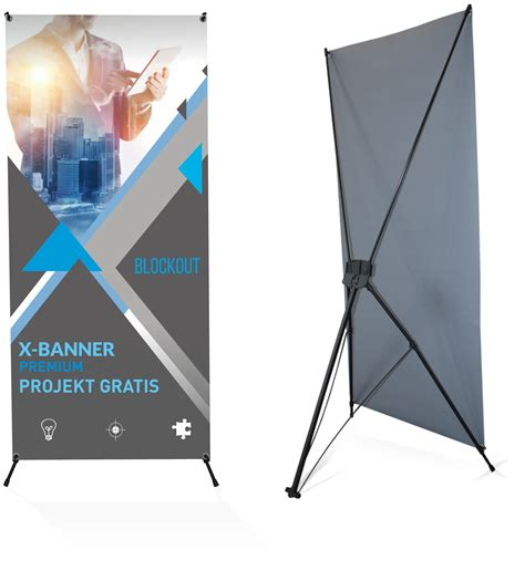 X Banner Premium x banner premium 60x160cm pajączek blockout studioflag pl
