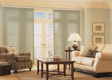 Blind Options For Sliding Glass Doors Sliding Glass Door Blinds Window Treatments Budget Blinds
