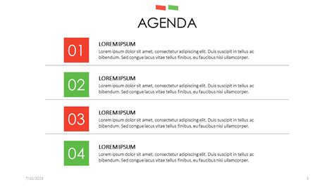 Agenda Free Powerpoint Template Powerpoint Meeting Agenda Template