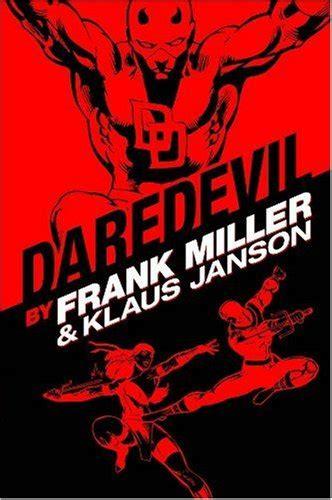 daredevil by frank miller daredevil by frank miller klaus janson omnibus 9780785126690 149 99