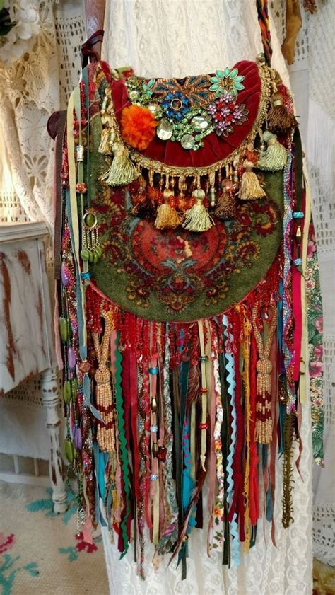 Handmade Boho Clothing - wow handmade ibiza festival bag hippie boho jewelry