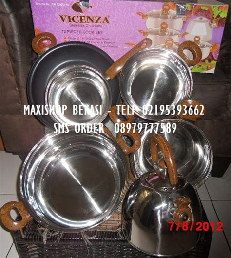 Vicenza Stainless Cookware V812 vicenza bekasi oktober 2011
