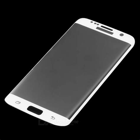 Tempered Glass Color Samsung Galaxy S7 Edge Lcd glass screen guard for samsung galaxy s7 edge white