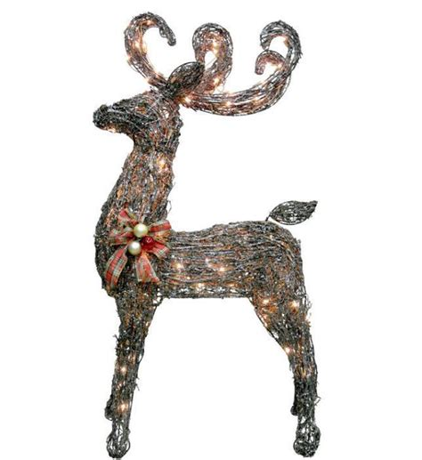 lighted grapevine reindeer decoration best 28 grapevine lighted reindeer celebrations 48