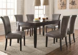 Marble Dining Room Table And Chairs by Newbridge Dining Set Table With Faux Marble Top And