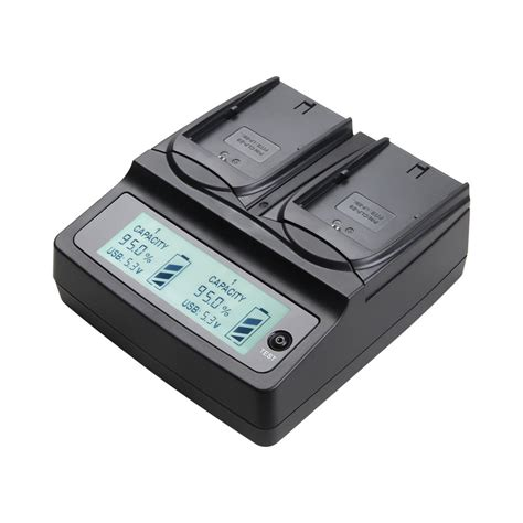 Sdv Ds Bls1 Charger Olympus udoli lp e6 lp e6 lpe6 battery dual charger for