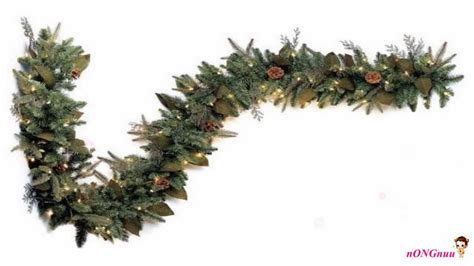 garland on sale buy gki bethlehem lighting pre lit 6 foot