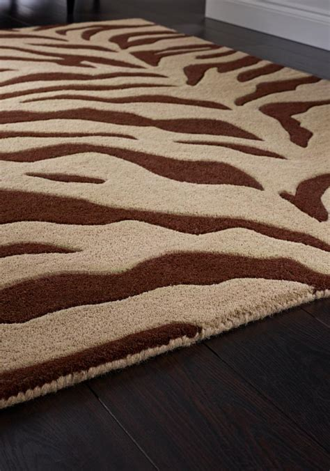 small zebra print rug brown zebra print rug best decor things