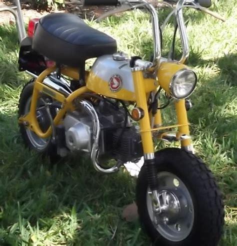Tas Motor Mini Bike honda trail mini bike nostalgia 2 wheels